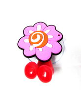 Buddyboo Flower Tooth Brush Holder, Pink And Red