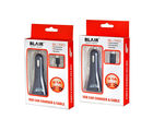 BLAIR Combo Pack of Car Charger for Iphone 5 & 6 and Micro USB Car Charger