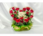 Lovely Roses with Teddy