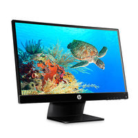 HP 23vx LED Backlit Monitor,  black, 23