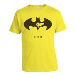 Alienwear Batman T-shirt, Men,  yellow, s
