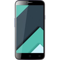 Karbonn Quattro L50-HD,  blue, 16 gb