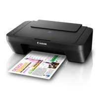 Canon PIXMA E410 Multi Function Colored Printer,  black
