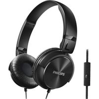 Philips SHL3195BK On-Ear Headphones with Mic,  black