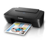 Canon PIXMA E470 All-In-One Inkjet Printer,  black