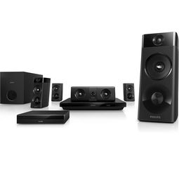 Philips HTB5520/94 5.1 3D Blu-Ray Players Home Theatre System,  black