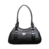 FOSTELO BLACK CASUAL MINI HANDBAG