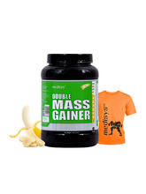 Medisys Double Mass Gainer Banana - 1.5 Kg (Free T...