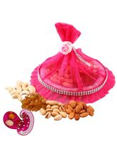 Creativity Centre Diwali Bhai Dooj Gifts With Crunchy Dryfruits (BCC50)