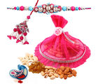 Creativity Centre Dry Fruit with Bhaiya Bhabhi Rakhi Hamper (CR137)