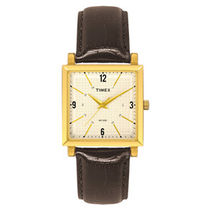 Timex Brown Leather Analog Men Watch   TI000T20000