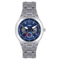 Timex E Class Multi Function Analog Blue Dial Men's Watch   TI000F90400