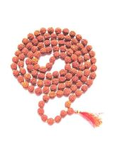 Aum Zone Rudraksh Jap Mala 9 Mm (108+ 1 Beads) (AZ...