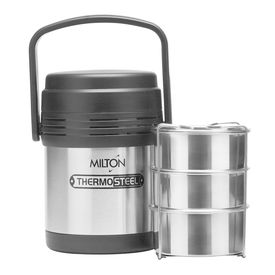 hot meal 3 - Milton - Insulated Steel - Hot Food Tiffin