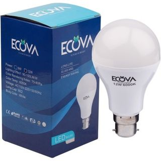 Ecova 12W LED Bulb (White, Pack of 2)