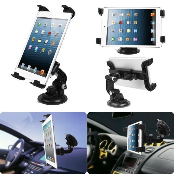 SBA Entice Universal Tablet Car Mount Holder for Samsung Galaxy Tab And All iPad Tab For Tata Sumo Gold