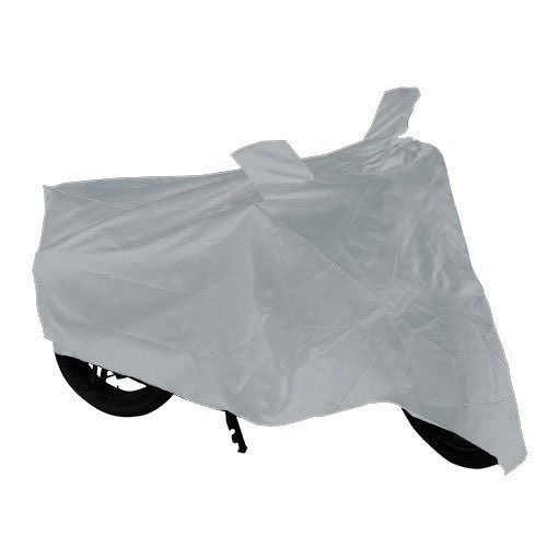 SAB ENTICE Bike Body Cover Silver For Bajaj Pulsar 180 Dtsi