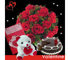 BAF Midnight-Valentine Hamper Gift, midnight delivery