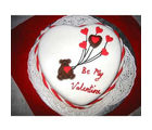 BAF Sweet Heart Shape Cake Gift, free shipping