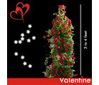 BAF Vanentine Midnight Tower of Love Gift, midnight delivery