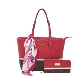 ESBEDA Ladies Handbag G-128,  red
