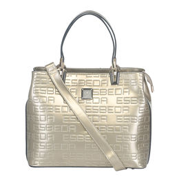 Ladies Handbag D1635-1,  pale gold