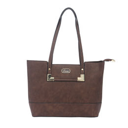 ESBEDA LADIES HANDBAG 18578,  coffee
