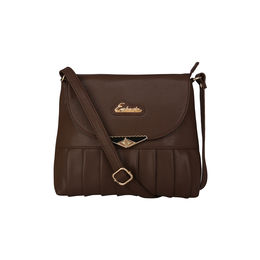 Esbeda Ladies Sling Bag GU160916,  brown