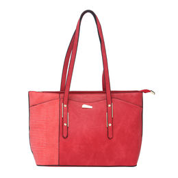ESBEDA LADIES HANDBAG 18652,  red