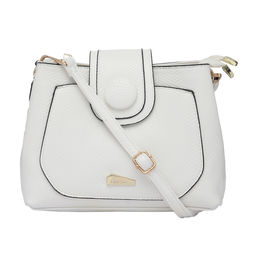 ESBEDA LADIES SLING BAG 160613,  white
