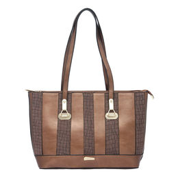 ESBEDA LADIES HANDBAG 18641,  coffee