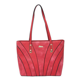 ESBEDA LADIES HANDBAG 18721,  red