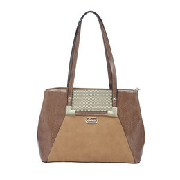 ESBEDA LADIES HANDBAG 18745,  camel