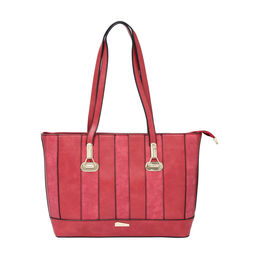 ESBEDA LADIES HANDBAG 18641,  red