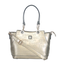 Ladies Handbag D1780-1,  pale gold