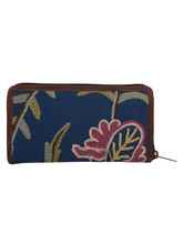The Decor Mart - Cotton Embroidered - Blue Wallet ...