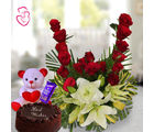 Delightful Flower Hamper
