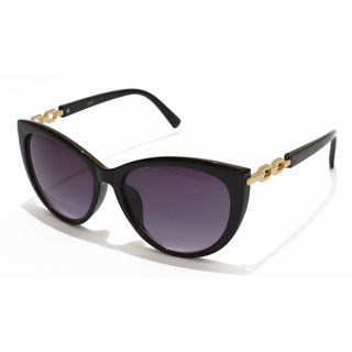 Roadster Five Lady Chain Black Cat-eye Sunglasses