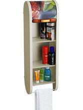 Cipla Plast Roll Top Bathroom Cabinet - Floral Ivo...