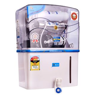 Ozean Marine RO, UF, TDS Controller & Alkaline With LED Water Purifier (12 L)