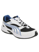 Puma Mesh and Textile Men Sport Shoes (Pu18877210), 7, white