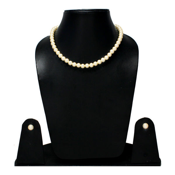 Single Layer Pearl Mala With Tops For Women
