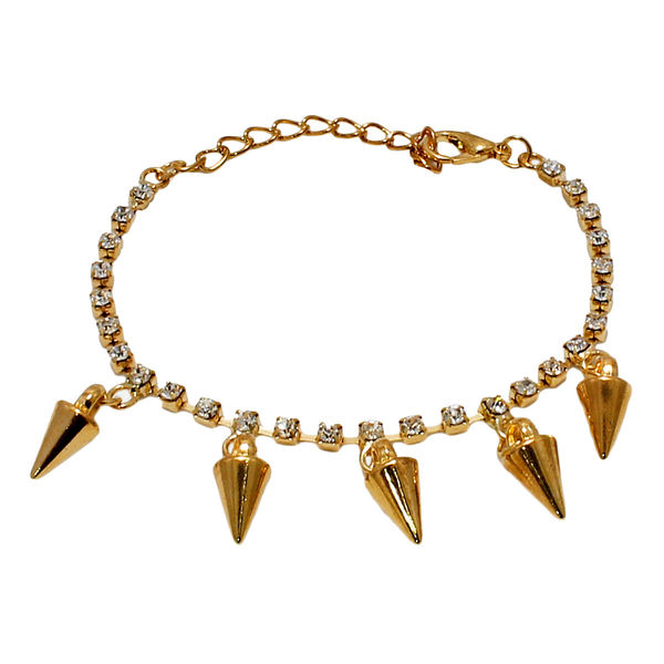 Golden And White Fashion Anklet For Women