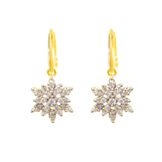 Trendy American Diamond Ethnic Danglers Earrings