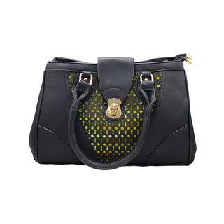 Designer Black Handbag Cum Sling Bag For Women