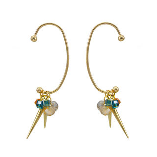 Stylish Ear Cuff With Dangling Studs