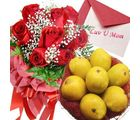 Flora Online Red Roses With Mangos