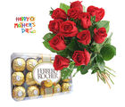 Flora Online Red Roses With Rocher