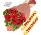 Flora Online Mother's Day - Roses Toblerone