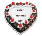 Flora Online Mother's Day - Heart Shape Cake